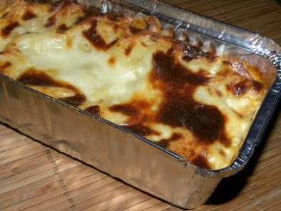 Lasagnes Aux Poireaux Ricotta Et Saumon Fume Gratinees A La Creme
