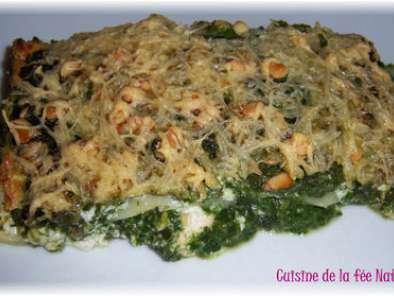 Lasagnes Epinards Ricotta Et Saumon Recette Ptitchef