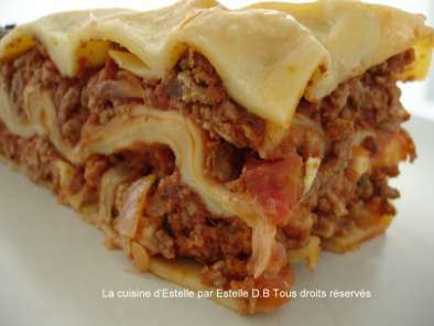 Lasagnes Maison Recette Ptitchef