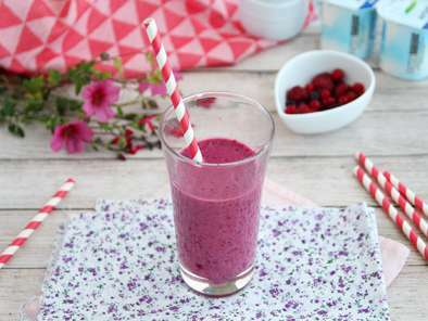 Lassi aux fruits rouges