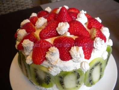 Recette gateau yaourt et kiwi