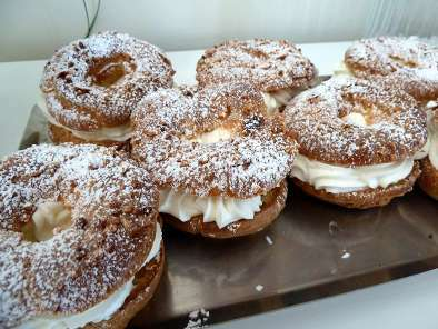 Le Paris Brest à la chantilly