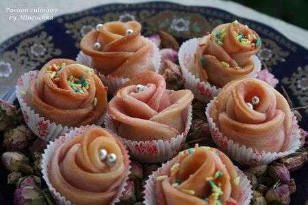 Les roses p tisserie alg rienne recette ptitchef for Notre cuisine algerienne