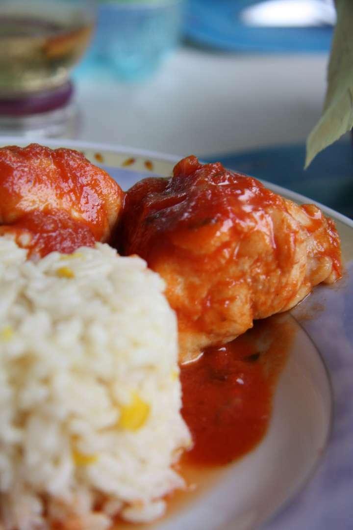 Lotte l 39 armoricaine recette ptitchef - Lotte a l armoricaine recette cuisine ...