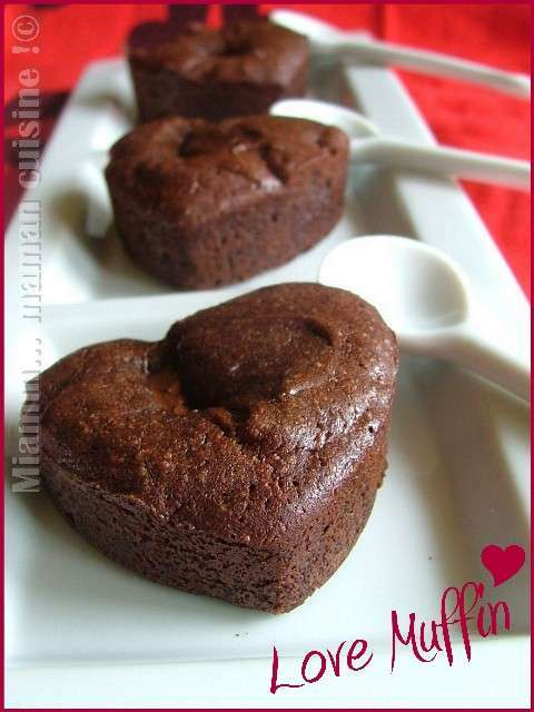 love muffin au chocolat coeur fondant recette ptitchef. Black Bedroom Furniture Sets. Home Design Ideas