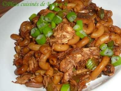 macaroni chinois au poulet recette ptitchef. Black Bedroom Furniture Sets. Home Design Ideas