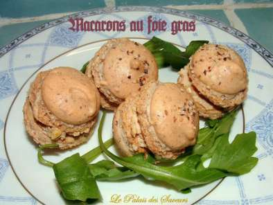 Macarons au foie gras, Photo 3