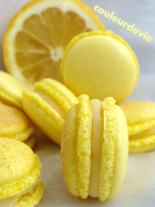 macarons citron gingembre recette ptitchef. Black Bedroom Furniture Sets. Home Design Ideas