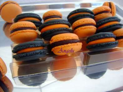Macarons d'Halloween : orange et noir, Photo 2