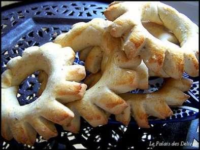 Kaak dOujda en étapes ( biscuits marocains ), Photo