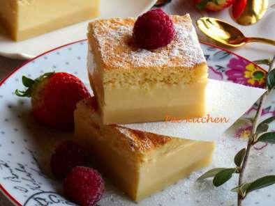 G teau magique la vanille facile et rapide recette ptitchef for Dessert facile et rapide et original
