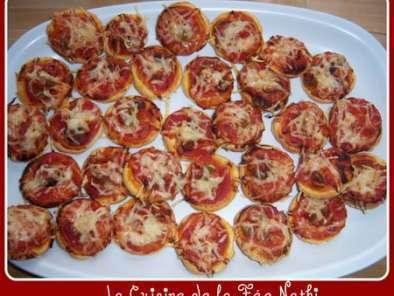 feuillet s ap ritif fa on mini pizzas recette ptitchef. Black Bedroom Furniture Sets. Home Design Ideas