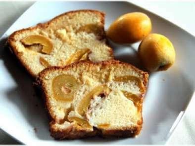 Cake aux nèfles du Japon