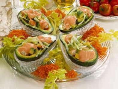 Salade exotique crevettes et avocats recette ptitchef for Entree originale hiver
