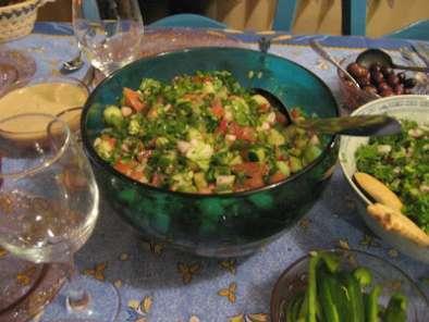 Mezza (repas libanais combiné pour 8 à 10 personnes), Photo 3