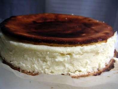 mi cheesecake mi g teau au fromage blanc sans p te di t tique recette ptitchef. Black Bedroom Furniture Sets. Home Design Ideas
