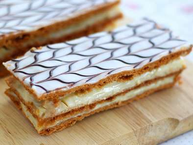 Mille feuille à la vanille, Photo 2