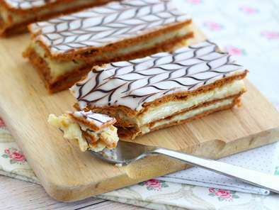 Mille feuille à la vanille, Photo 4