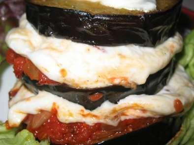 Millefeuille D Aubergines A La Tomate Et A La Mozzarella Recette