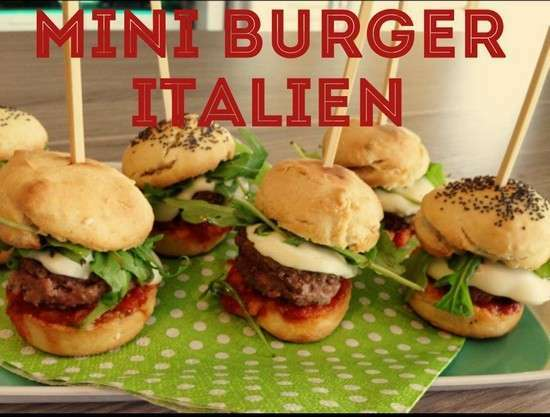 Turbo Mini burger italiens - Recette Ptitchef BZ63