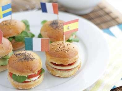 Génial Recette Apéro Dinatoire Facile Sans Cuisson mini burgers apéro, recette ptitchef