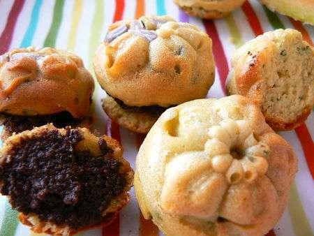 mini cakes ap ritifs all g s aux herbes recette ptitchef. Black Bedroom Furniture Sets. Home Design Ideas