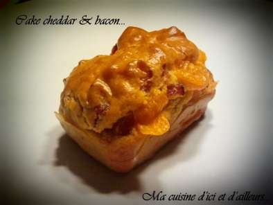 Mini-cakes cheddar et bacon