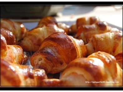 Mini croissants ap ritif recette ptitchef - Apero dinatoire sans four ...