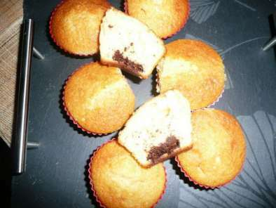 Gateau yaourt coeur chocolat blanc