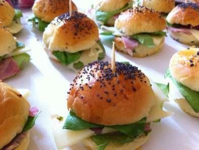 Mini Hamburger Maison Jambon Emmental