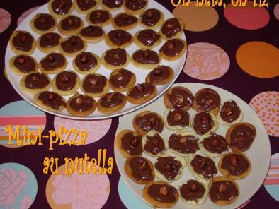 Mini-pizzas au nutella