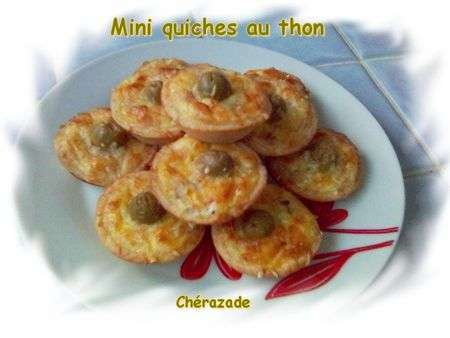 mini quiches au thon recette ptitchef. Black Bedroom Furniture Sets. Home Design Ideas