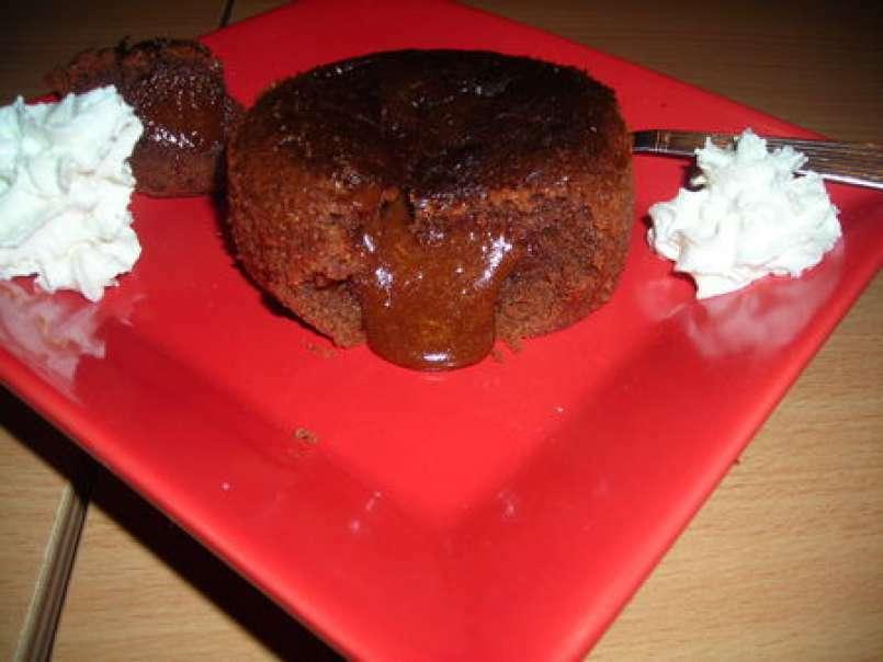 Moelleux Au Chocolat Au Lait Coeur Coulant Recette Ptitchef