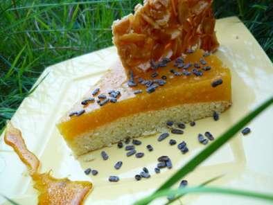 moelleux aux amandes nectar d 39 abricot et croustillant d 39 amandes recette ptitchef. Black Bedroom Furniture Sets. Home Design Ideas