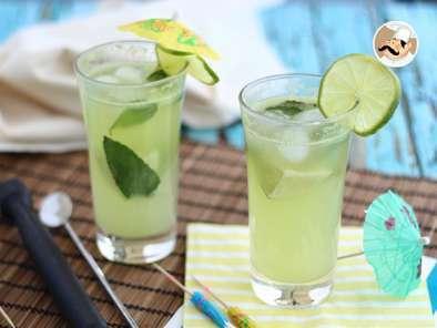 Mojito Au Concombre Cocktail Sans Alcool Recette Ptitchef