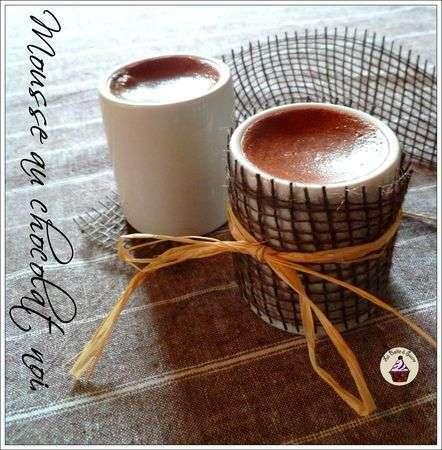 Mousse au chocolat noir la cr me de soja recette ptitchef - Mousse au chocolat a la creme ...