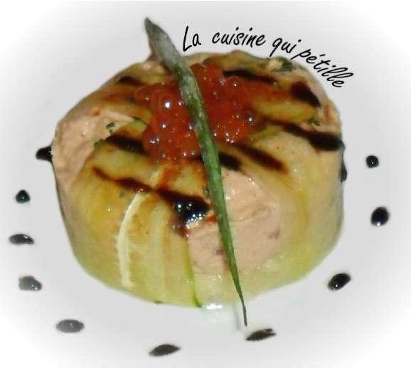 Mousse de thon ananas une entr e d 39 t recette ptitchef - Entree d ete ...