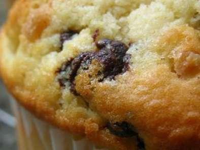 Muffins A La Vanille Aux Pepites De Chocolat Et Aux Noisettes