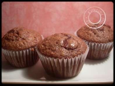 muffins au chocolat et aux pepites de chocolat de nigella lawson recette ptitchef. Black Bedroom Furniture Sets. Home Design Ideas