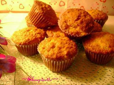 Muffins aux pêches et fruits de la passion, Photo 3