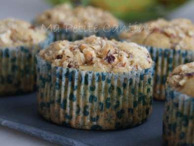 Muffins aux pommes au micro ondes