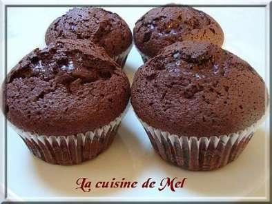 Recette muffin au chocolat noir