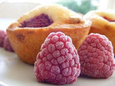Muffins Framboises Et Chocolat Blanc Recette Ptitchef