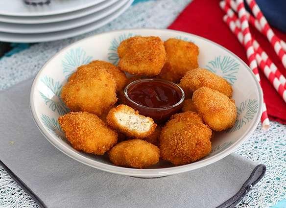 Nuggets de poulet faits maison