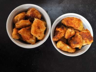 Nuggets maison au parmesan et purée moelleuse ...