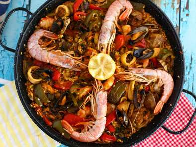 Paella aux fruits de mer, Photo 2