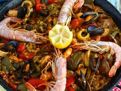 Paella aux fruits de mer, Photo 3