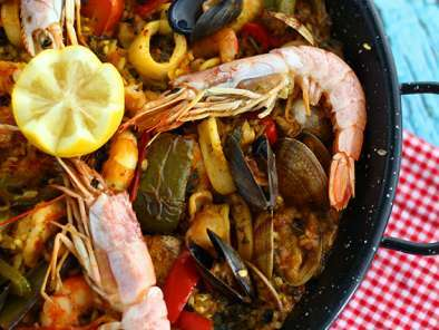 Paella aux fruits de mer, Photo 4