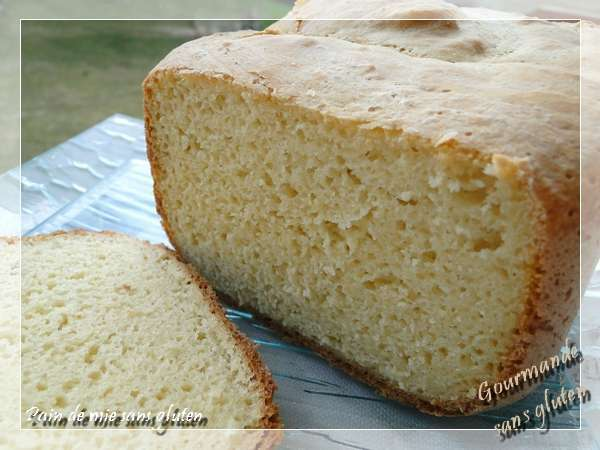 Pain de mie sans gluten la machine pain recette ptitchef - Pain de mie machine a pain ...