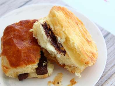 Pains au chocolat ou chocolatines, photo 4